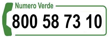 numero verde: 800507310
